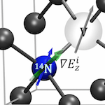 Optically Detected Nuclear Quadrupolar Interaction of 14N in Nitrogen-Vacancy Centers in Diamond.