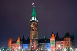 Parliament buildings, Ottawa, CA