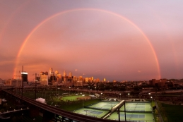 Double Rainbow Over Penn Park